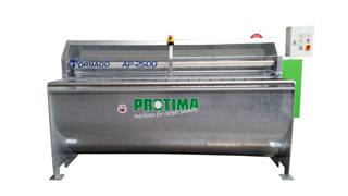 Rug Washing Machine Economic P 2500 Hot Dip Galvanized