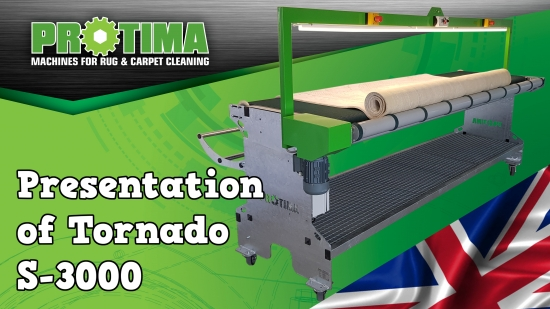 Rug&Carpet Packing Table Tornado S-3000